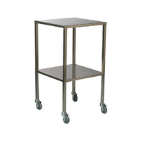 Stainless Steel Dressing Clinicart Trolley Instrument - 2 Deck - 900 x 490mm