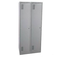 Locker - Steel - Brownbuilt (375) - 750 x 450 x 1800mm - 1 Tier - Bank of 2