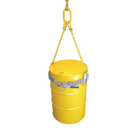Industrial Crane Drum Clamp Drum Lifter - SWL 1000kg Rated