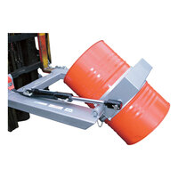 1 Tonne Industrial Drum Rotator - Forklift Attachment - Hydraulic - DC-R2