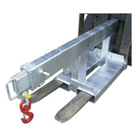 2500kg Rated Fixed Forklift Jib Attachment - Short