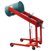 350KG Drum Lifter Tipper Heavy Duty Lift Tip Machine - Grip Model - 1600mm Lift