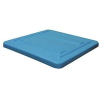 1000L Plastic Nally Mega Stacking Bin Lid - 1100 x 1100 x 1150mm