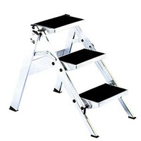 Little Jumbo Aluminium Single Sided Step Ladder - 0690mm - 3 Step