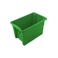 Bin - Stack & Nest - #15 - 68 litre - 645 x 413 x 397mm high - Green