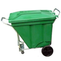 Bin - Waste - Mobile Waste Container - 270 litre - GHO KART - 4 Wheel