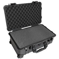 Transport Case - Pelican 1510 Carry On - 501 x 279 x 193 - Foam Insert - Black