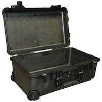Transport Case - Pelican 1510NF Carry On - 501 x 279 x 193 - No Foam - Black