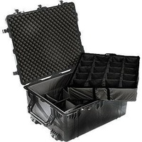 Transport Case - Pelican 1694 - 762 x 635 x 381 mm - Padded Dividers - Black