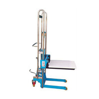 400kg Rated Manual Platform Lifting Hand Stacker - Max Lift Height 1500mm