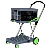 60KG Clax Cart Trolley - Foldable Crate - 500 X 350 X 260mm - Made in Germany