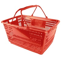 Trolley Shopping Basket Suits 3 Basket Shopping Trolley Red