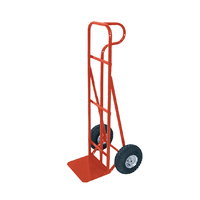 General Purpose Hand Trolley Hand Truck P Handle - 1240mm - 250mm Rubber Wheels