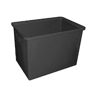Bin - Rectangular - Rotomould - 320 litre -  915 x 610 x 610 mm high - Black