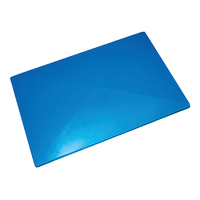 320L Plastic Rectangular Bin Rotomould Container - LID ONLY - Blue