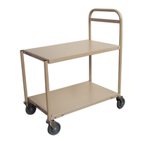 Trolley 2 Deck - Reflex Model L (Medium) - 1110 x  510mm -  Beige