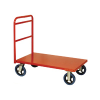 Trolley - Platform - Series 5 - 1 Handle - 4 Wheel -  810 x 510 x 1040 mm - Orange