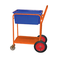 Trolley - Order Picking - BinMate Buggy - Push Handle - Orange (Bins not included)