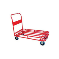 Trolley - Platform - Stock Trolley - 1 Handle - 4 Wheel - 1200 x 600 mm - Tube Deck