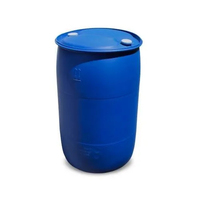 200L Plastic Drum Round - Closed Head - Blue - Non Dangerous Goods