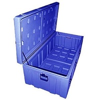 Transport Case - Spacecase - Modular 620 - 1240 x 620 x 450 - Blue