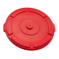 Lid Suit Thor 121L Utility Plastic Container - Red