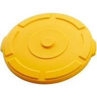 Lid Suit Thor 121L Utility Plastic Container - Yellow