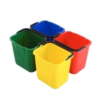 Cleaning Buckets (Set Of 4) Suits Janitorial Cart