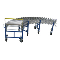 Conveyor Extendable Roller - 450mm wide - 1450mm to 3900mm