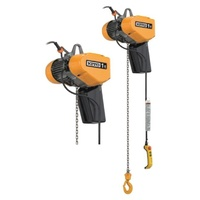Kito EQ Dual Speed 3 Phase Electric Hoist With Inverter - 500kg rated - 3m