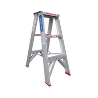 Indalex Trade Aluminium Double Sided Step Ladder - 3 Step - 900mm - 150kg