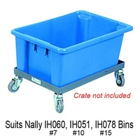 80KG Dolly Plastic Bin Angle Frame - 600 x 360mm