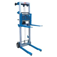181kg Rated Winch Operated Stacker - Max Platform Height 2400mm