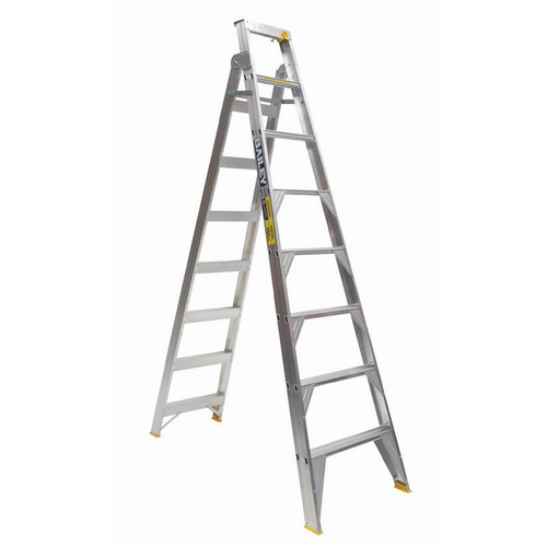 Stepladder - Aluminium - Dual Purpose - Punchlock Professional 150kg - 2400 to 4400mm