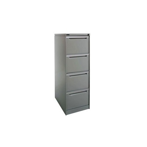 Filing Cabinet - Legato - 4 Drawer - 453 x 620 x 1327mm(Unit Colour:Graphite Ripple (Textured))