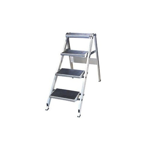 Little Jumbo Aluminium Single Sided Step Ladder - 0920mm - 4 Step