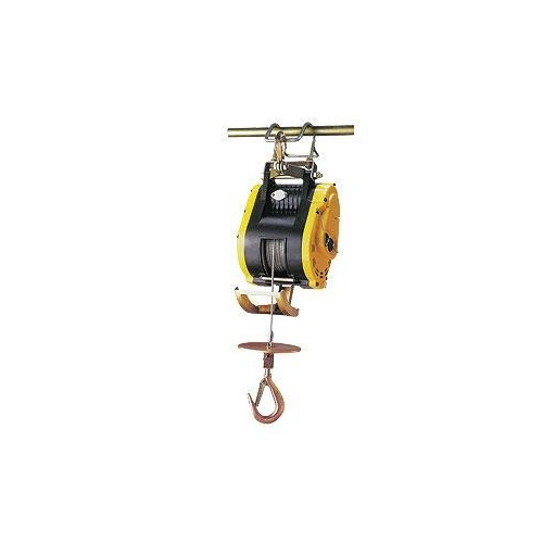 240V Electric Industrial Hoist Single Phase Wire Rope - 230kg Rated