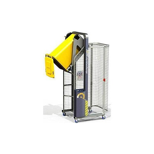 Wheelie Bin Lifter - Dumpmaster - 415v - 250kg - 1530mm Tip Height